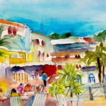 Baleares Islands Sketches And Paintings by Miki de Goodaboom