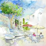Spain Sketches and Paintings 01 by Miki de Goodaboom