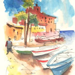 Italy Sketches and Paintings 01 by Miki de Goodaboom
