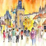 Czech Republic Sketches and Paintings by Miki de Goodaboom