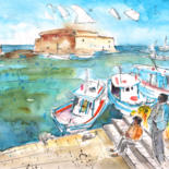 Crete Sketches and Paintings by Miki de Goodaboom