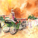 Morocco Sketches and Paintings by Miki de Goodaboom
