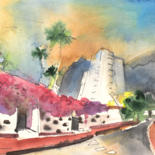 Tenerife Sketches and Paintings by Miki de Goodaboom