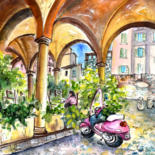 Italy Sketches and Paintings 02 by Miki de Goodaboom