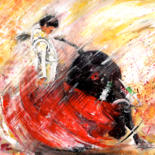 Bullfight Paintings by Miki de Goodaboom