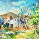 Spain Sketches and Paintings 04 by Miki de Goodaboom