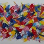 Painting, acrylic, abstract, artwork by Grant Preston