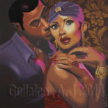 76x76 cm © by Guilaine Arts
