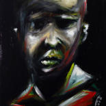 Painting, acrylic, expressionism, artwork by Hercules Rodriguez