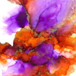 Painting, ink, abstract, artwork by Holly Anderson