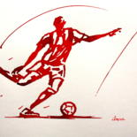 Football-Peintures-Dessins-Calligraphies by IBARA