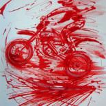 Moto cross Peintures-Dessins-Calligraphies by IBARA