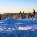 """Photography titled """"Sled Tracks"""" by Igzotic, Original Art, Digital Photography"""