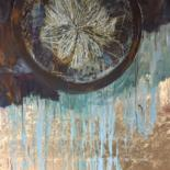 """Painting titled """"magnetfeld"""" by Gaby Roter, Original Art, Other"""