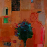 Painting, oil, artwork by Irena Luse