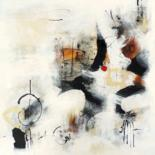 Soul's vibrations (paintings on canvas 2013 - 2014) by Isabelle Mignot