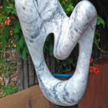 Contemporary Stone Sculpture I by Jan and Jo Moore