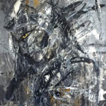 """Painting titled """"joan of arc 3."""" by Jason Lincoln Jeffers, Original Art, Acrylic"""