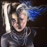 Painting, oil, figurative, artwork by Jessica Astier