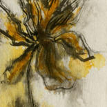 Painting, ink, figurative, artwork by Jeannette Allary