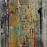 Painting, acrylic, abstract, artwork by Jean-Humbert Savoldelli