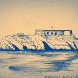 Tenby Drawings by Jon Phillipson Brown
