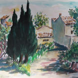 10.6x15 in ©1985 by Jean Xavier Combe