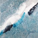 WATER AND ICE - available original abstract seascape paintings by Klara Gunnlaugsdottir
