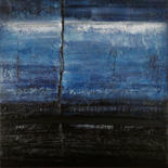 BLUE CHARM SERIES - available original paintings on canvas by Klara Gunnlaugsdottir