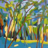 Arbres Huiles sur toile     oil paintings of trees by Jean-Noël Le Junter
