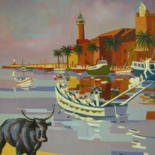 Autres marines du Languedoc huiles sur toile                 Other marine oil paintings of Languedoc by Jean-Noël Le Junter