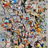 Abstract painting by Lubalem