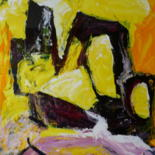 """Painting titled """"Specific Case    (A…"""" by Louis Lambry, Original Art, Acrylic Mounted on Wood Panel"""