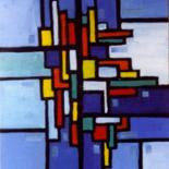 EXPRESSION  GEOMETRIQUE  INSPIRATION Piet Mondrian by LOUIS RUNEMBERG