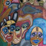27.6x19.7 in © by Marianne Delamarre-Ancarno Art