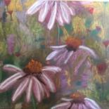 """Drawing titled """"«Je t'aime"""" by Elle Rayonne, Original Art, Pastel"""