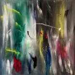 Abstract Painting, acrylic, abstract, artwork by Michael Denart