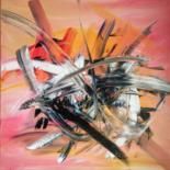 Color Painting, acrylic, abstract, artwork by Michael Denart