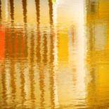 Colorful Reflections on Water by Monique Anna Michel