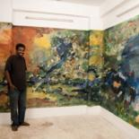 my exhibition ( the river ) march 2010 by Mutaz Elemam