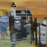 Bridge seascapes and landscapes by Noreen Schumann