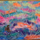 """Painting titled """"Les """"Aimants"""" """"The…"""" by Rivka, Original Art, Acrylic"""