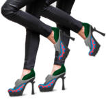 Creating models of shoes for women by Oxana Kolyagina