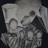 25.6x19.7 in ©1977 by Patrice PREVEIRAULT