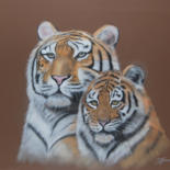 pastels d'animaux by Patricia Hyvernat