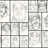 Yuma Farm Worker Series, Drawings by Drapala Gallery