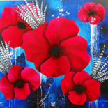 39,4x39,4x0,8 in ©2014 da Aurelie Pfaadt Ladypoppies