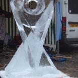SCULPTURE GLACE by Philippe OLIVE