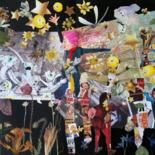 """Collages titled """"Wake up.!!!!!"""" by Phil Colisov, Original Art, Collages"""