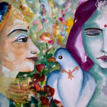 L'Inde en face - Aquarelles by Véronique Piaser-Moyen